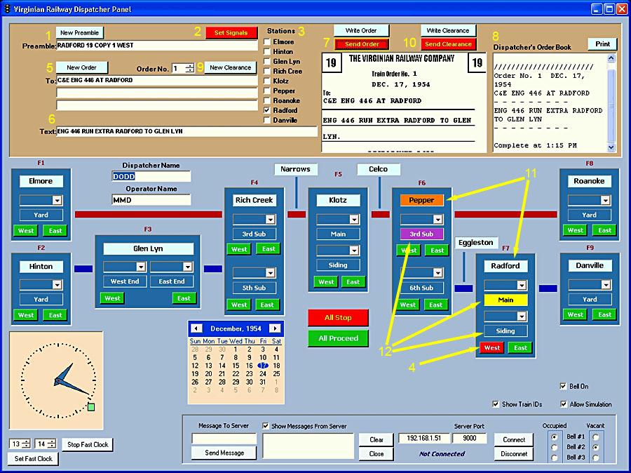 Dispatching software - 023b